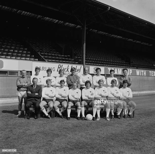 English soccer team Derby County FC UK 3rd September 1971