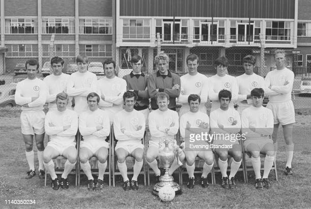 English soccer team Leeds United FC group photo UK 29th July 1969