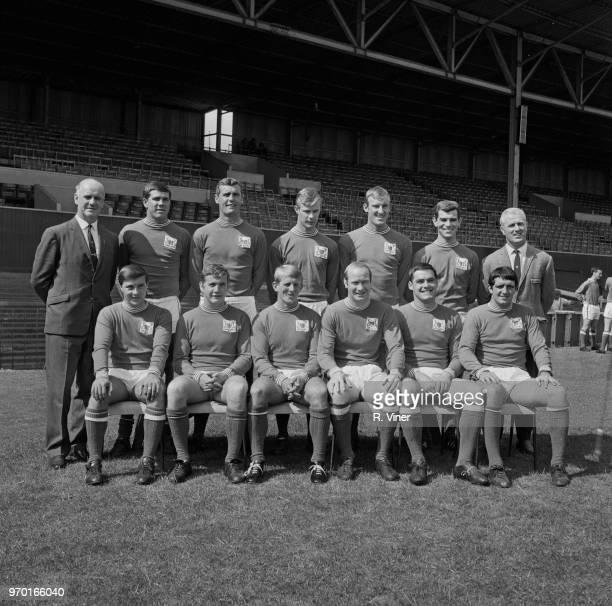 English soccer team Nottingham Forest FC group portrait UK 27th July 1967