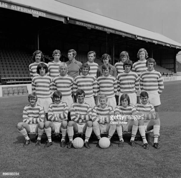 English soccer team Reading FC, UK, 1st September 1971.