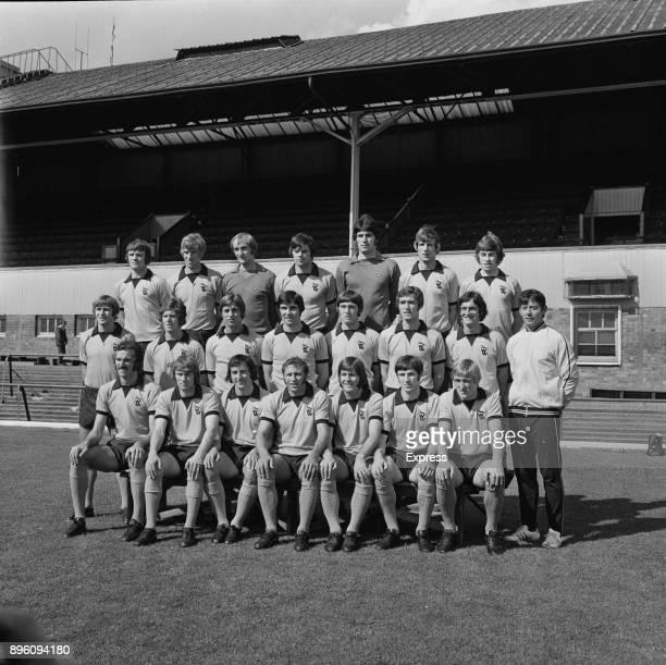 English soccer team Wolverhampton Wanderers FC Rod Arnold Alan Sunderland Stephens Phil Nicholls Micky Kent Peter Eastoe Devlin Steve Daley Collins...