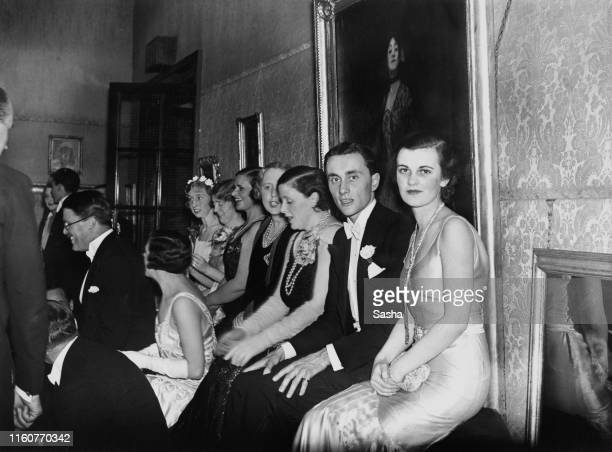 English socialite Margaret Whigham at a Burlington Galleries party, London, May 1931.