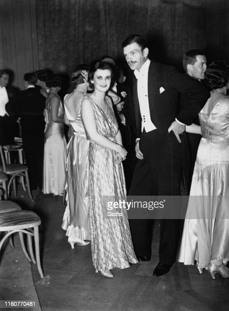 "English socialite Margaret Whigham at the ""I'm Glad I Went"" ball at the Mayfair Hotel, London, 29th June 1931."