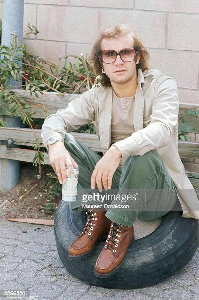 English songwriter and lyricist Bernie Taupin circa 1980