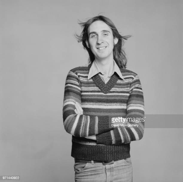 English songwriter and musician Mike Rutherford of rock band Genesis UK January 1976