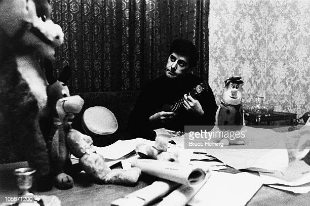 English songwriter Mitch Murray at home UK 1965