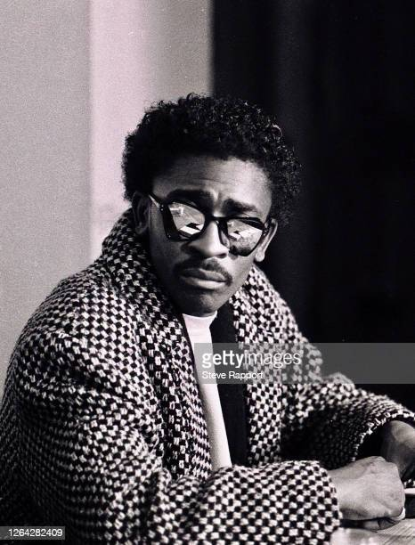 English Soul and RB musician Junior Giscombe Red Wedge Tour De Montfort Hall Leicester 1/28/1986 During the latter half of the 1980s the Red Wedge...