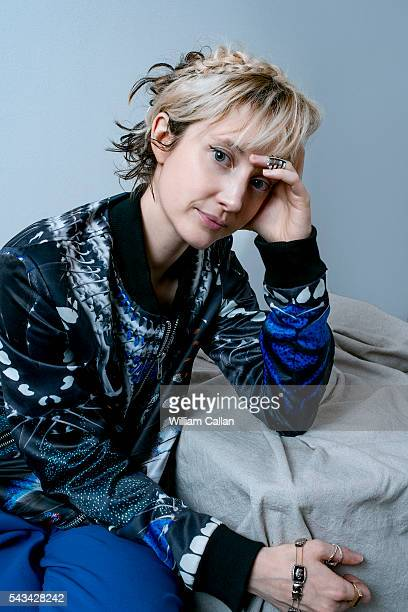 English stage and film actress Andrea Riseborough is photographed for The Wrap on June 14 2016 in Los Angeles California PUBLISHED IMAGE