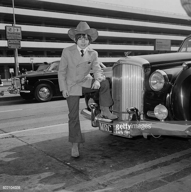 English stage and screen actor Jack Wild at London Airport 22nd March 1969