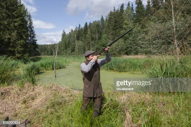 English style gentleman hunter