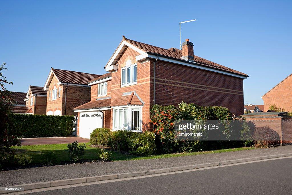 English Suburban House.