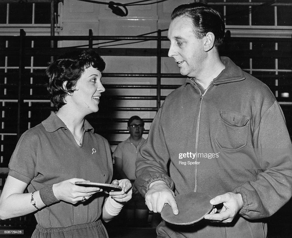 Diane Rowe And Johnny Leach : News Photo