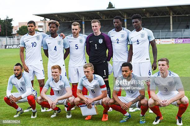 English team during the International Football Festival tournament of Toulon Final match between France U20 and England U20 on May 29 2016 in Avignon...