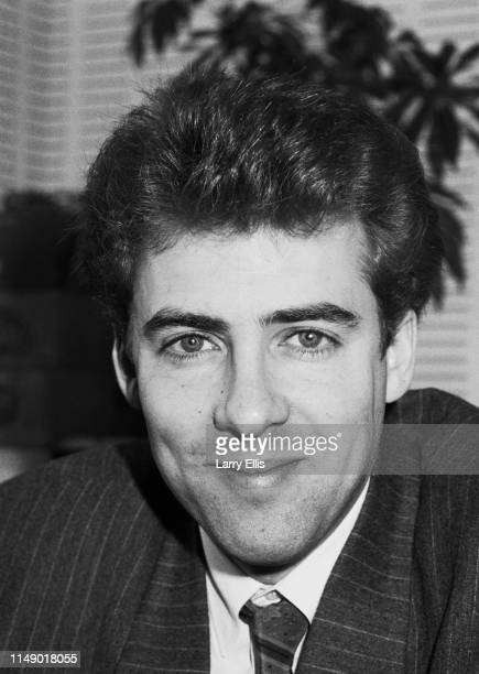 English television and radio presenter film critic actor and comedian Jonathan Ross UK 2nd April 1984