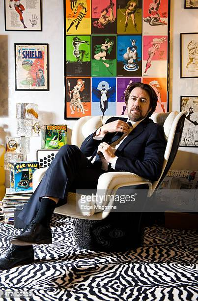 English television and radio presenter Jonathan Ross photographed during a portrait shoot at Hot Sauce TV studios, February 25, 2013.