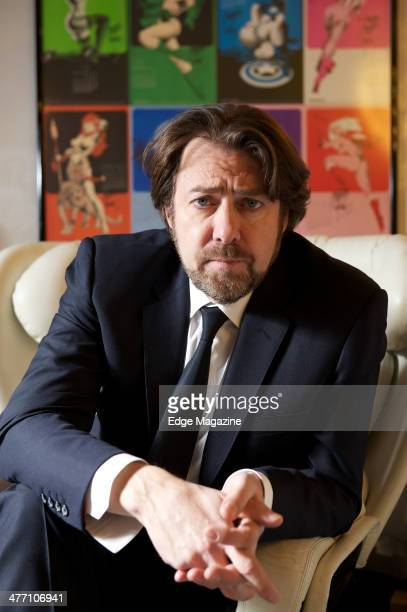 English television and radio presenter Jonathan Ross photographed during a portrait shoot at Hot Sauce TV studios February 25 2013
