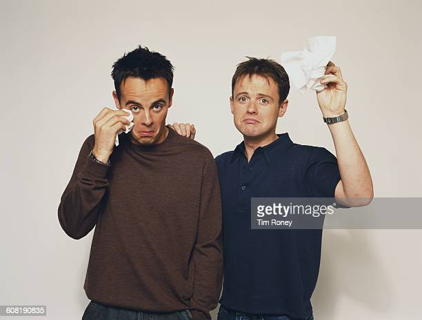 English television duo Ant Dec aka Anthony McPartlin and Declan Donnelly circa 1995