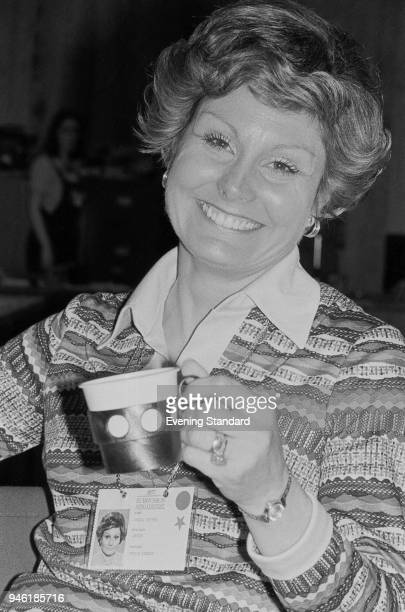 English television journalist newsreader writer and presenter Angela Rippon UK 5th May 1977