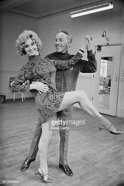 English television presenter and entertainer Bruce Forsyth and New Zealandborn stage film and television actress Nyree Dawn Porter enjoy a dance...
