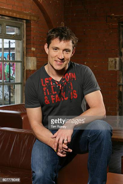 English television presenter and journalist Ben Shephard London UK circa 2005