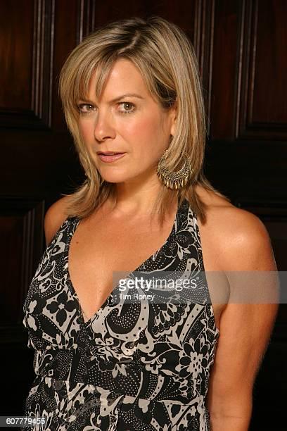 English television presenter and newsreader Penny Smith circa 2005