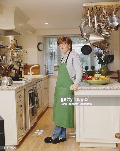 English television presenter Anne Robinson 1996