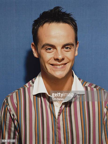 English television presenter Anthony McPartlin aka Ant of Ant Dec circa 1995