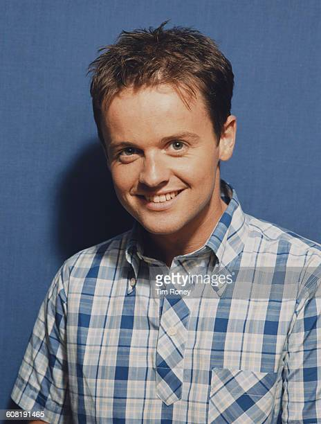 English television presenter Declan Donnelly aka Dec of Ant Dec circa 1995