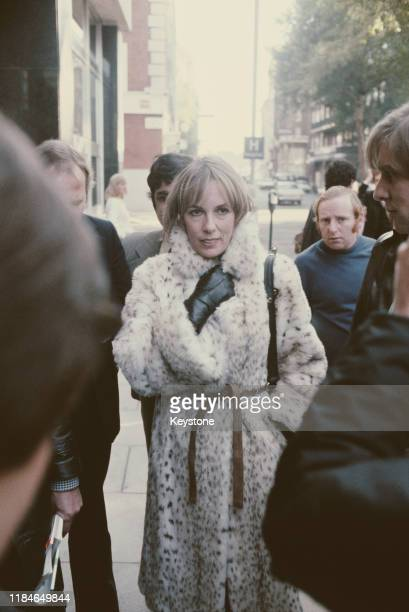 English television presenter Esther Rantzen arrives at Horseferry Road Magistrates Court in London, after being charged with obstruction during the...
