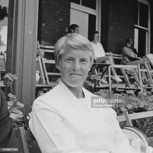 English tennis player Ann Jones UK 19th June 1968
