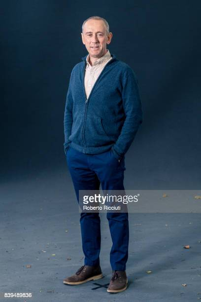 English theatre director film director and film producer Nicholas Hytner attends a photocall during the annual Edinburgh International Book Festival...