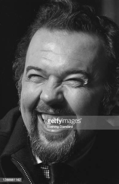 English theatre director Peter Hall , UK, December 1971.