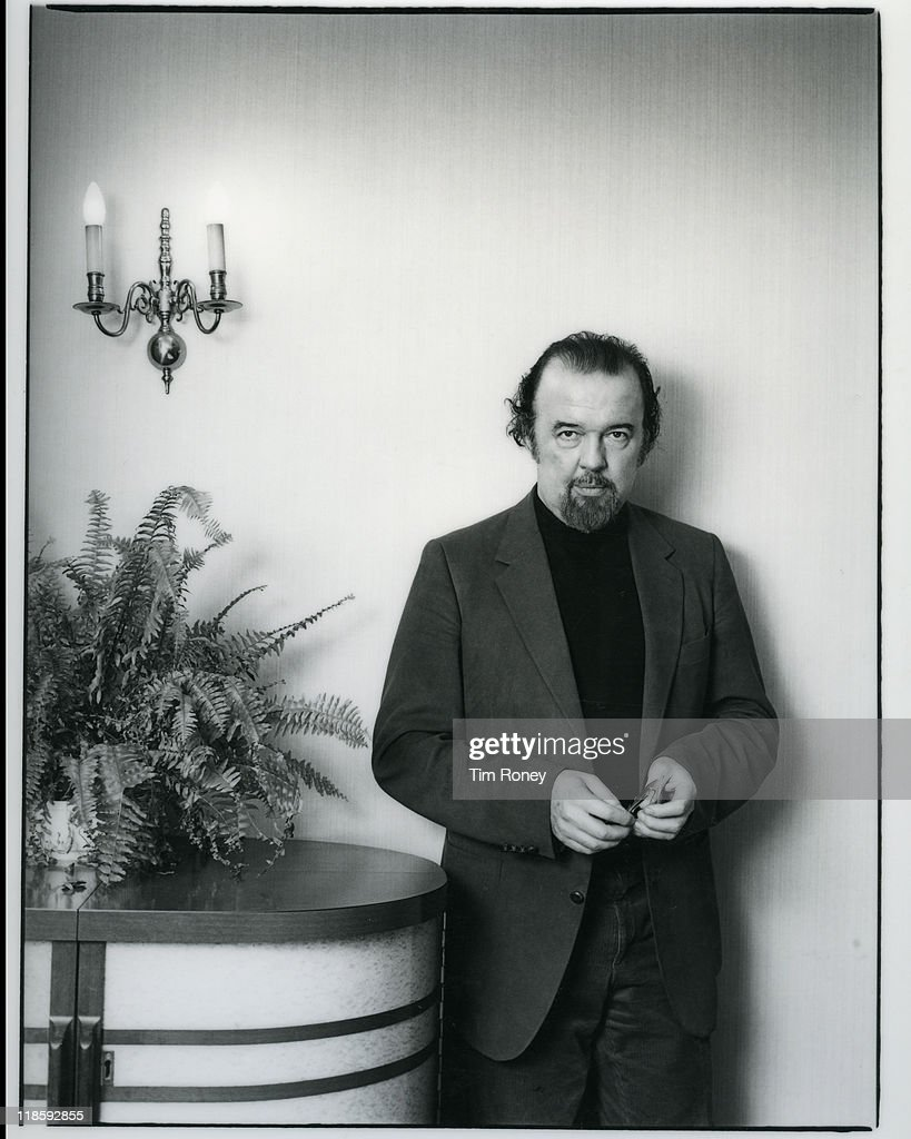 English theatre director Sir Peter Hall, circa 1980.