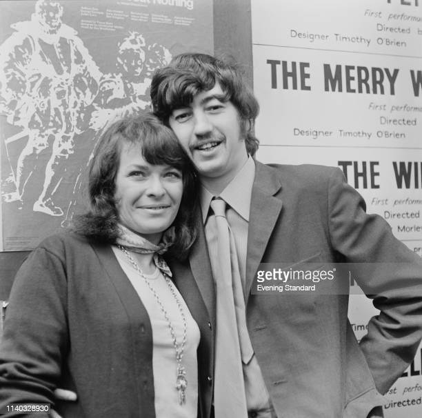 English theatre director Trevor Nunn Artistic Director for the Royal Shakespeare Company and South African/British actress Janet Suzman UK 22nd...