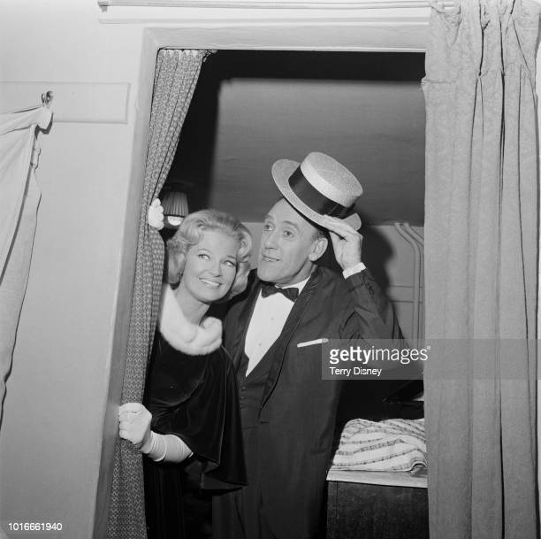 English traditional pop music singer Joan Regan and English comedian Tommy Trinder UK 2nd January 1965