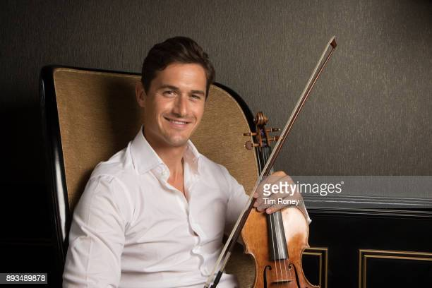 English violinist Charlie Siem portrait United Kingdom 2017