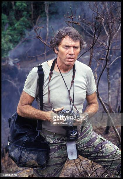 English war photographer Don McCullin in the Philippines 7th November 1986