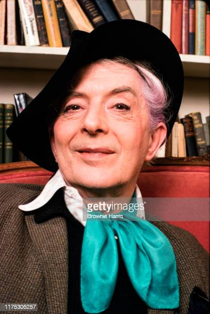 English writer and actor Quentin Crisp, New York, New York, January 10, 1980.