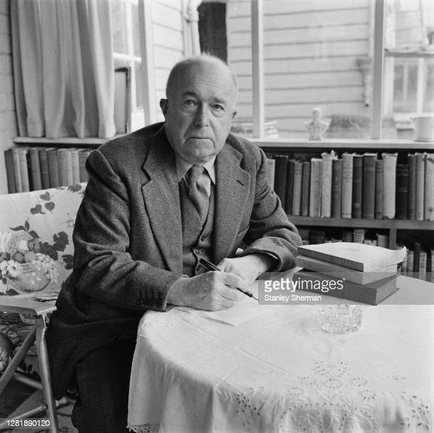 English writer and columnist John Cameron Andrieu Bingham Michael Morton aka J B Morton who writes for the Daily Express under the pen name...