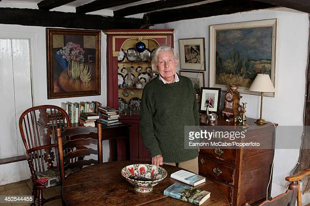 English writer and editor Ronald Blythe at home in Wormingford on the Suffolk border United Kingdom 16th September 2012 The house was once the home...