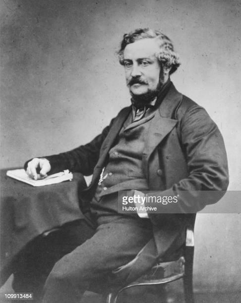 English writer and inventor Martin Farquhar Tupper, F.R.S. , circa 1880.