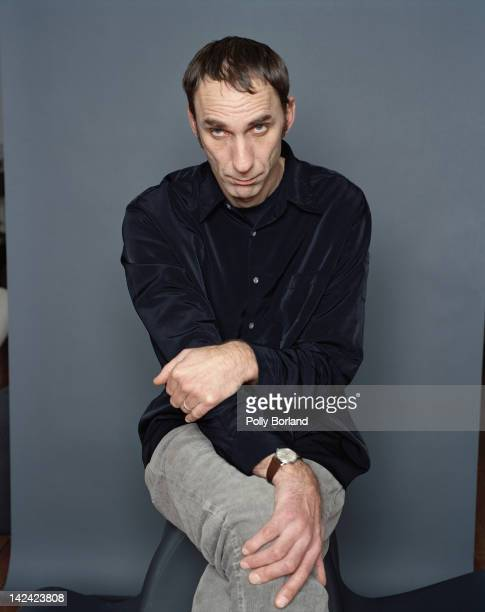 English writer and journalist Will Self circa 2000
