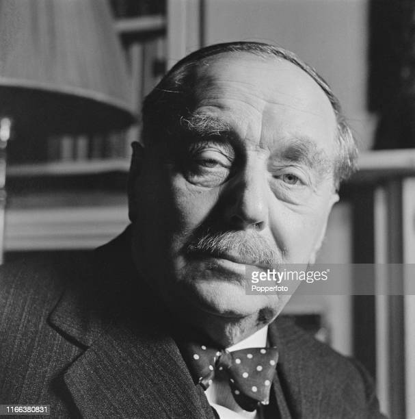 English writer and novelist H G Wells pictured at home in London on 28th December 1939
