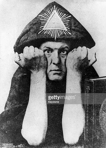 English writer and occultist Aleister Crowley