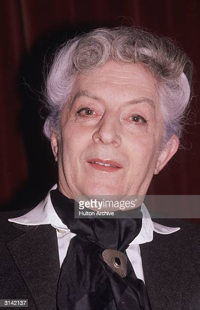 English writer and stage performer Quentin Crisp , the author of 'The Naked Civil Servant'.