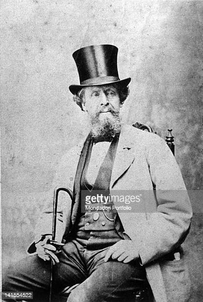 English writer Charles Dickens at the age of 50 1862