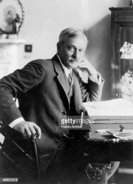 English writer Edward Frederic Benson best known for his 'Mapp and Lucia' series of novels circa 1915