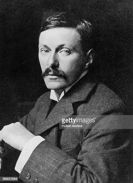 English writer Edward Frederic Benson best known for his 'Mapp and Lucia' series of novels circa 1895