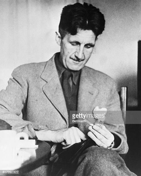 English writer George Orwell was the author of such books as Animal Farm and 1984