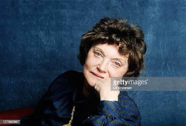 PARIS FRANCE MARCH 15 English writer Muriel Spark poses during a portrait session held on March 15 1987 in Paris France